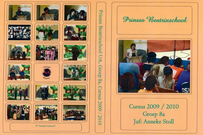 PBS Hoes 2009-2010-Groep 8a-Juf Anneke Stoll